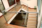 Glass balustrades & handrail support example no. 12