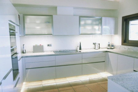 Convenient And Modern Kitchen Gl Splashbacks